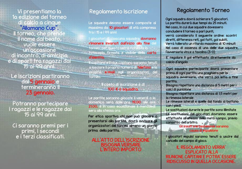 Torneo Calcio 1